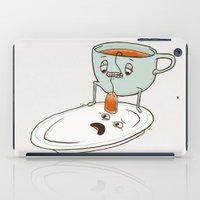 tea iPad Cases featuring Tea Baggin' by Phil Jones