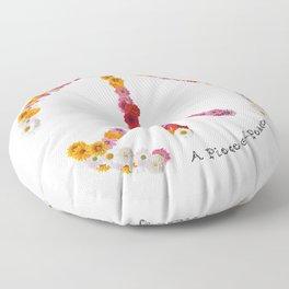 A Piece of Peace - 2016 Floor Pillow