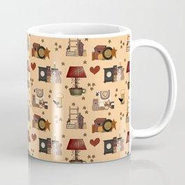 COUNTRY PRIMITIVE Coffee Mug