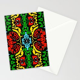 Angel and Demon Stationery Cards