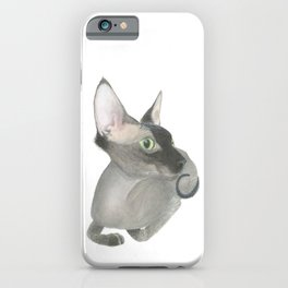 The Fuzzy Sphynx iPhone Case