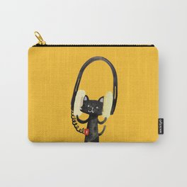 I Love Huge Headphone Carry-All Pouch