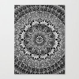 Eye See Beyond Mandala Canvas Print