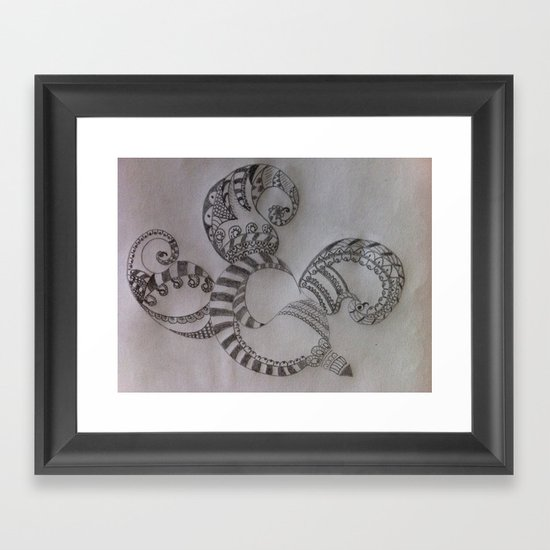 Black & White Framed Art Print