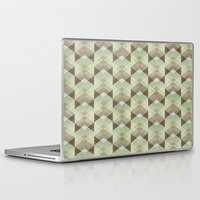 whisky Laptop & iPad Skins featuring Hipster Pattern  by Schwebewesen • Romina Lutz