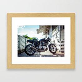 Triumph Thruxton Framed Art Print