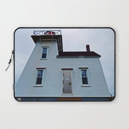 Lighthouse in North-Rustico Laptop Sleeve