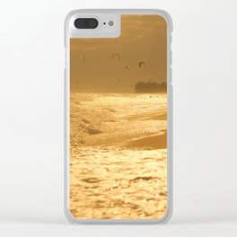 kitesurfing Clear iPhone Case