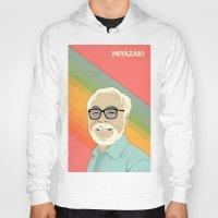 miyazaki Hoodies featuring Miyazaki by Virtual Window