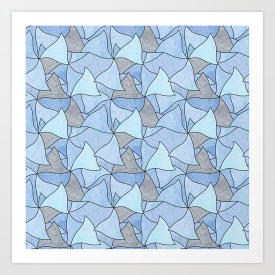 Abstract pattern . 2 Art Print