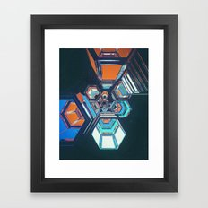 HEXOUT (01.23.16) Framed Art Print