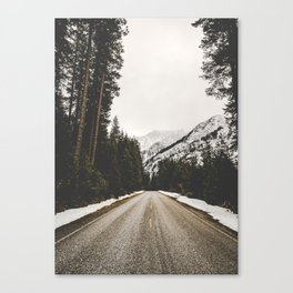 Great Mountain Roads - Nature Photography Canvas Print