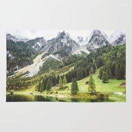 Alps in Austria. Rug