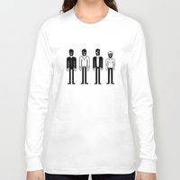 talking heads Long Sleeve T-shirts featuring Talking Heads by Band Land