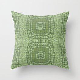 Spring Multi Directional Chevrons Throw Pillow