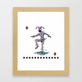 Harlequin Framed Art Print