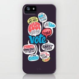 Vote! iPhone Case