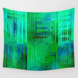 SchematicPrismatic 04 Wall Tapestry