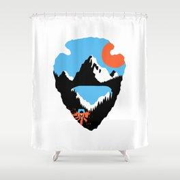 Western Odyssey Shower Curtain