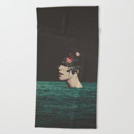 4 AM Beach Towel