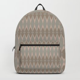 Harlequin in Taupe Backpack