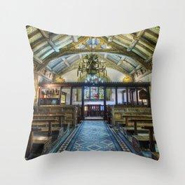 Hidden Chapel Throw Pillow