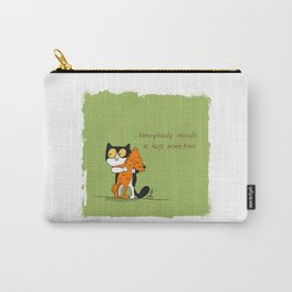 Everybody needs a hug sometime Carry-All Pouch