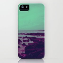 Purple Rocks iPhone Case