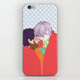 Victuuri Christmas iPhone Skin