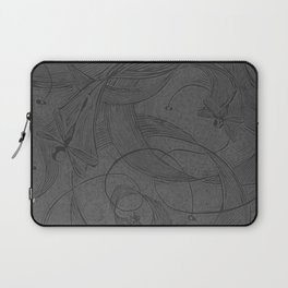 Draggin Flys - I have the actual hand printed and signed prints for sale still. Unframed $40.00 Laptop Sleeve