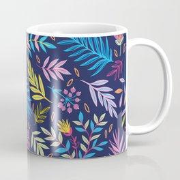 Colorful flowers during the night Coffee Mug