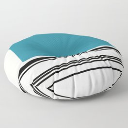 Code Teal Floor Pillow