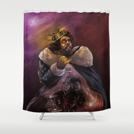 The King J Cole Shower Curtain