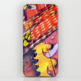March To Your Own Beating Drum iPhone Skin