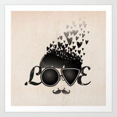 Blind Love Art Print