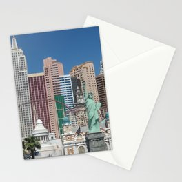 New York in Vegas Stationery Cards