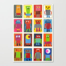 The Robot Army, 2013 Canvas Print