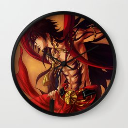 Focalor Sinbad - Magi artwork Wall Clock