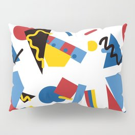 Postmodern Primary Color Party Decorations Pillow Sham