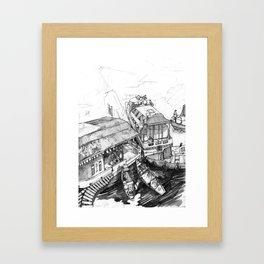 Nuchinatown Framed Art Print