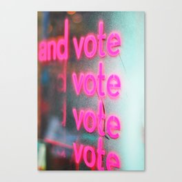 295. And vote vote vote, New York Canvas Print