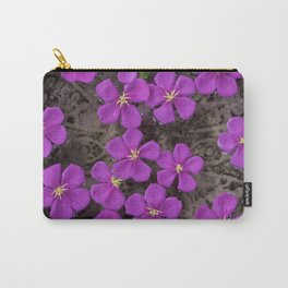 PEPPER AND FLOWERS Carry-All Pouch