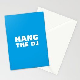 Hang The DJ Stationery Cards