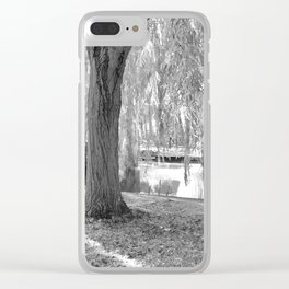 The English IR Pond Clear iPhone Case