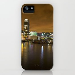 Reflections II - Grand Canal Dock iPhone Case
