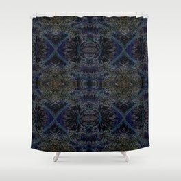 Blue Spruce Shower Curtain