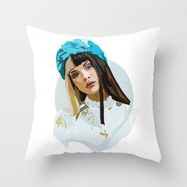 Melanie - Crybaby Throw Pillow