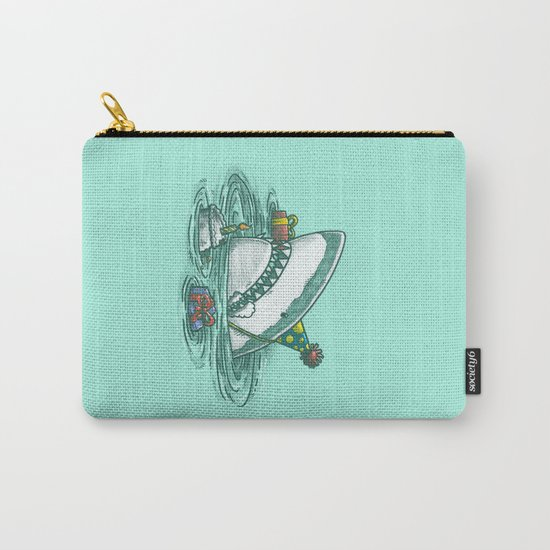 Happy Birthday Shark Carry-All Pouch