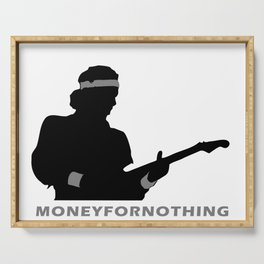 Money For Nothing Serving Tray