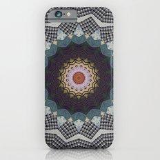 Bohemian Dream Sequence --Whimsical Vintage Textile Kaleidoscope Mandala Slim Case iPhone 6s